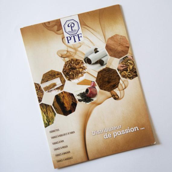 Création graphique et mise en page du catalogue produits